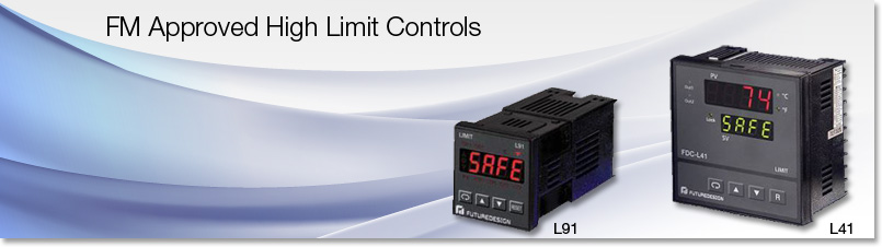 High Limit Controls FM Approved Configurable