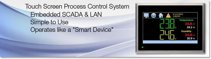 Process Control nCompass System Touch screen SCADA LAN