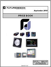 Future Design Controls Price Book